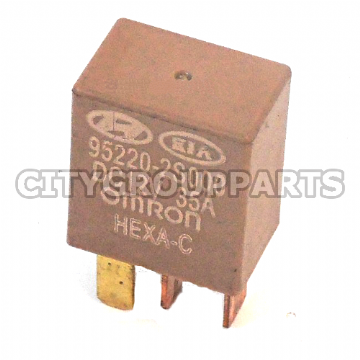 HYUNDAI ACCENT I30 SANTA FE TUCSON BROWN MULTIPURPOSE RELAY 952202S000 4 PINS